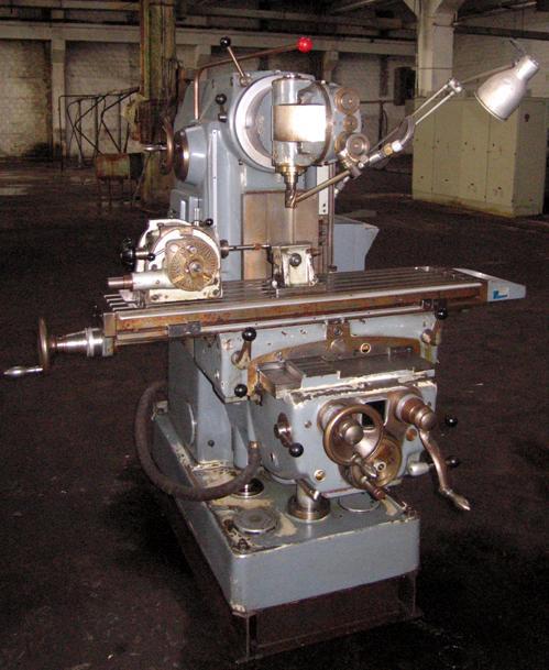 Universal Milling Machine SCHAUBLIN 53 Switzerland