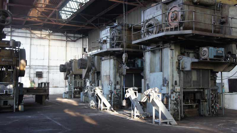 VERSON Line - Transfer Presses for EXTRUSION BEARINGS RINGS