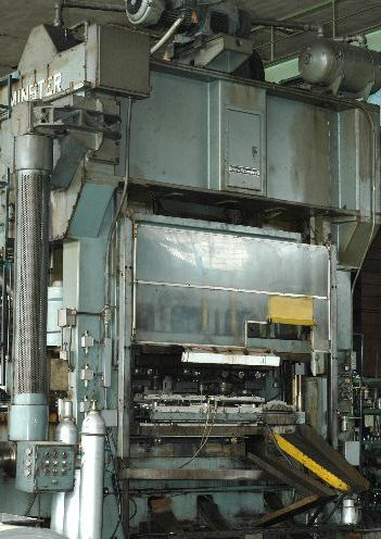 MINSTER E2 400   TRANSFER HEAVY STAMPING PRESS