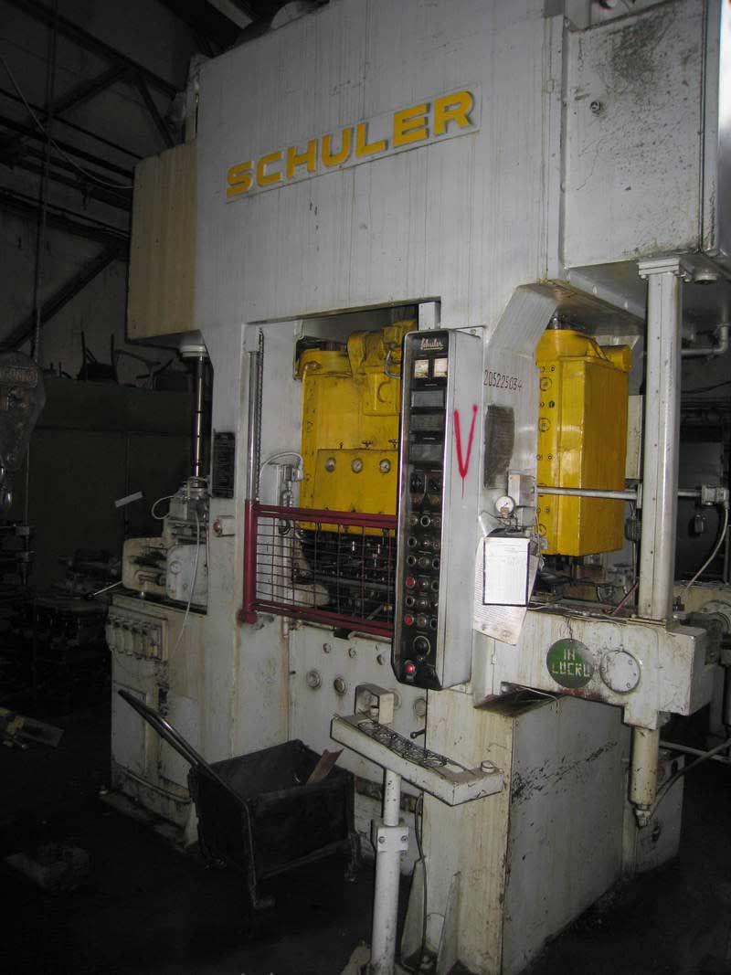 Automatic Press for Cages SCHULER  PSt-125/6/150