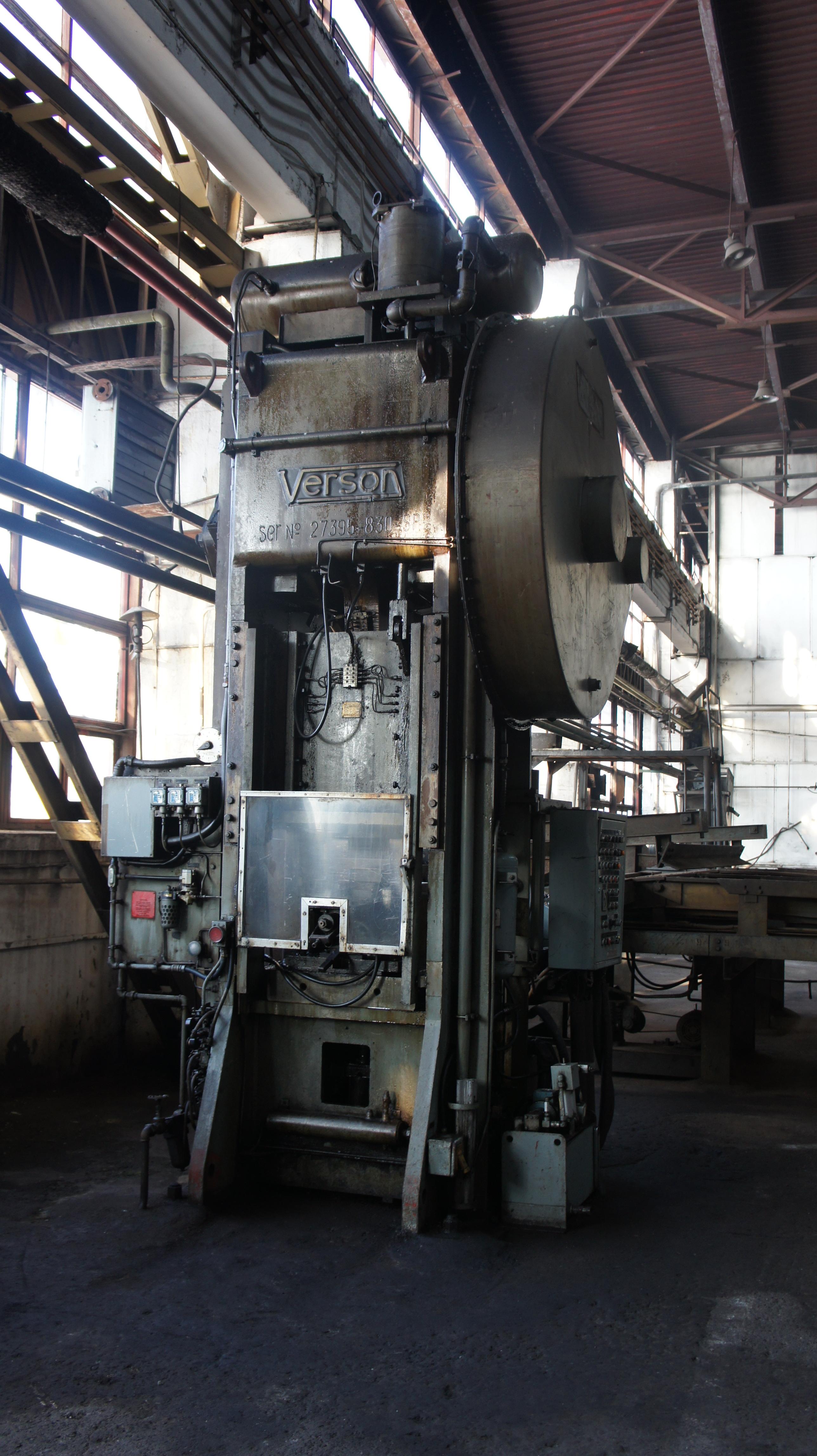 Bar Shears Pressing Machines 830 SP