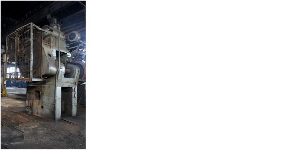 Mechanical Forging Press K 863  VORONEJ 1000 Ton