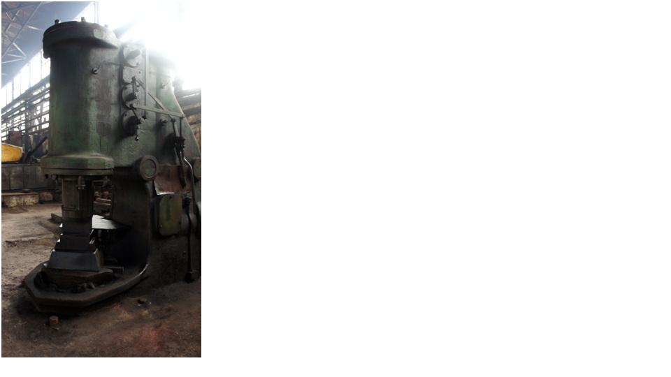 MA 417    750 KgF  Free Forging Hammer