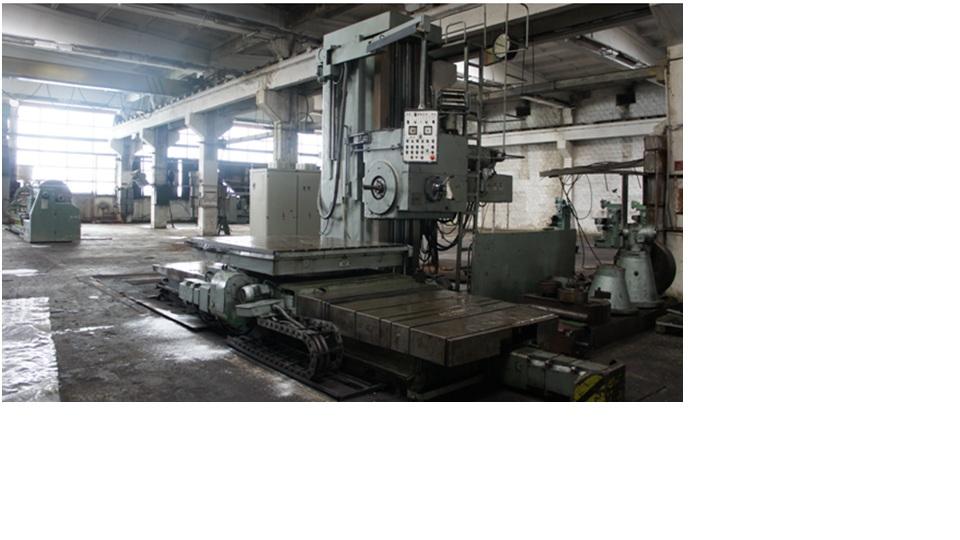 Horizontal Boring - Milling Machine IMUAB  AFC 130