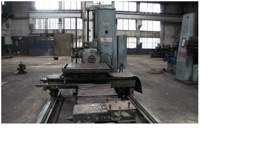 Horizontal Boring Machine CERUTTI AF 80/130