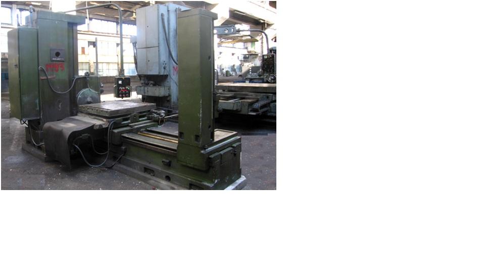 Horizontal Boring And Milling Machine IMUAB ROMANIA AF 85