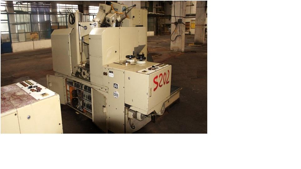 Gear grinding machine WMW NILES ZSTZ 630C1