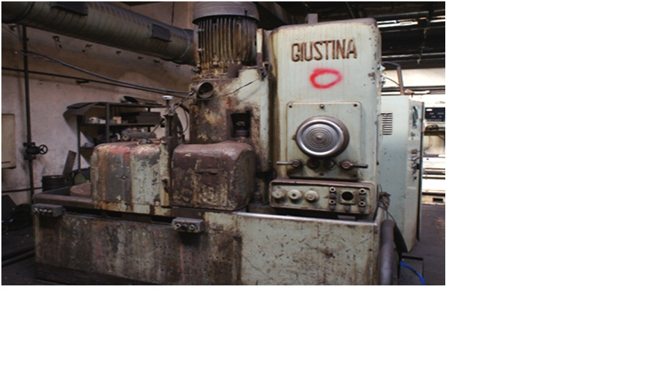 VERTICAL SURFACE GRINDER     GIUSTINA  R 900.C