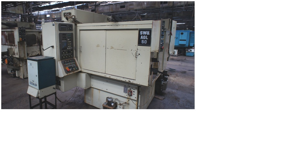 External Grinding Machine  SWA AGL 50/4 PC