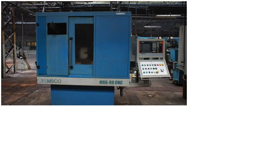 Grinding machine for rib of inner ring – tapered roller bearings – MRG-80 CNC