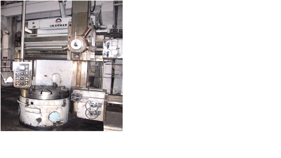 Vertical Turning Lathe VTL I.M. ROMAN SC 1250
