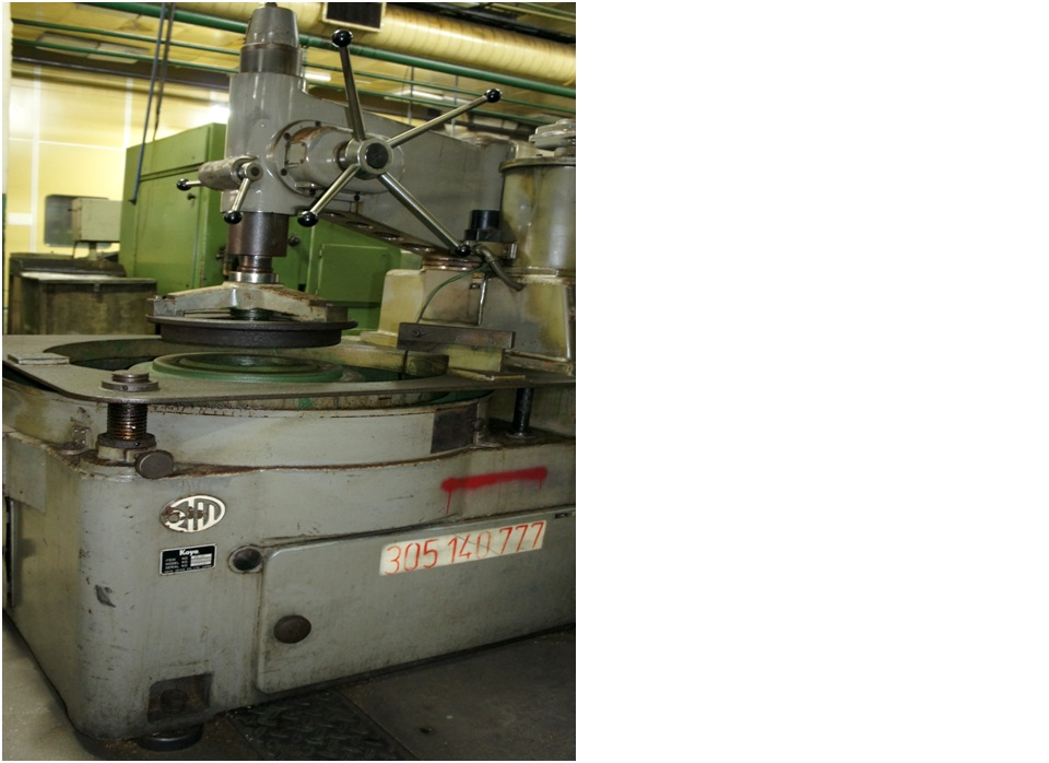 Super-Finishing Machine for Tapered Rollers TR 9