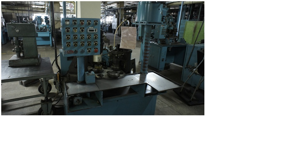 Semi-automated machine for assembly the needel bearings,    Koyo NFM-NA-S