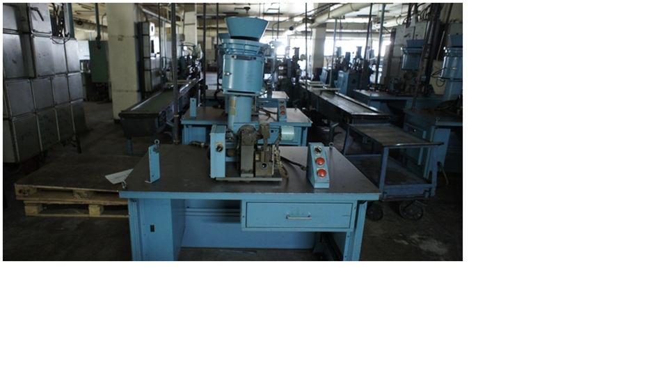 Semi-automated machine for assembly the needel bearings,    Koyo AN-11-1/BK-1