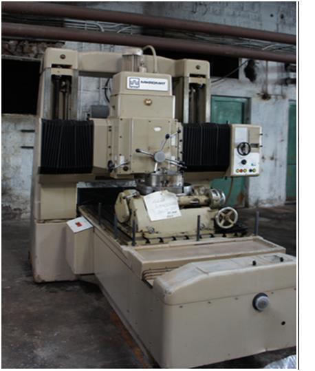 Jig Boring Machine VEB Mikromat BKoZ 900 x 1400