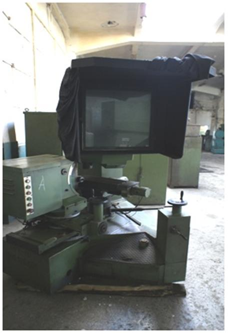 Optical Profile Grinding Machine KON-250-34