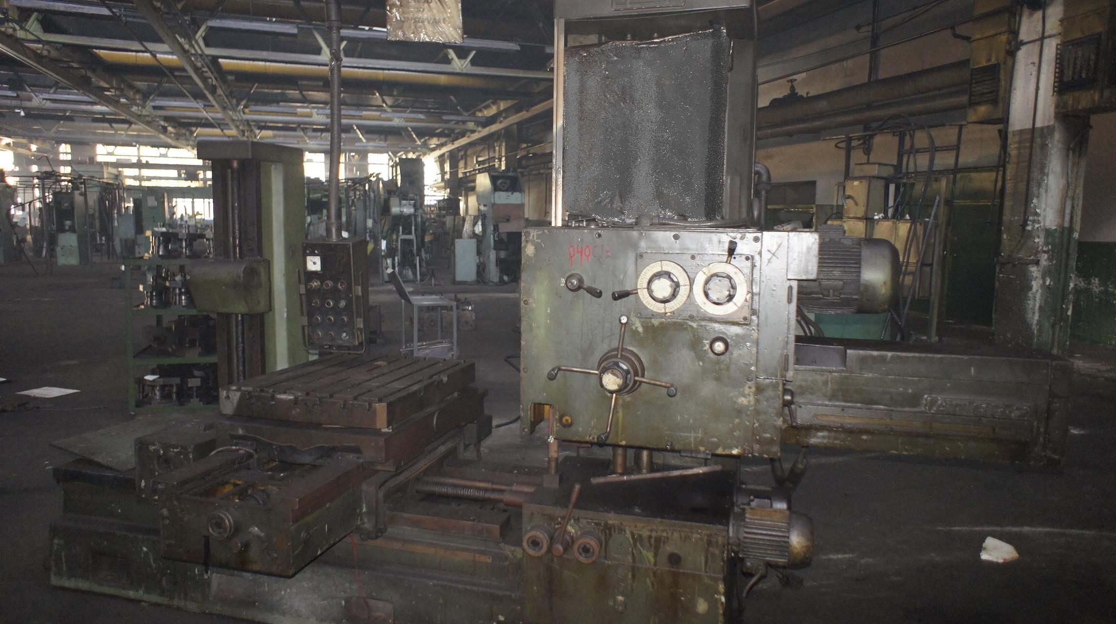 Horizontal Boring And Milling Machine IMUAB ROMANIA AF 63/2