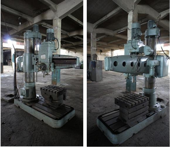 Radial Drilling Machine        Csepel RF 22/A