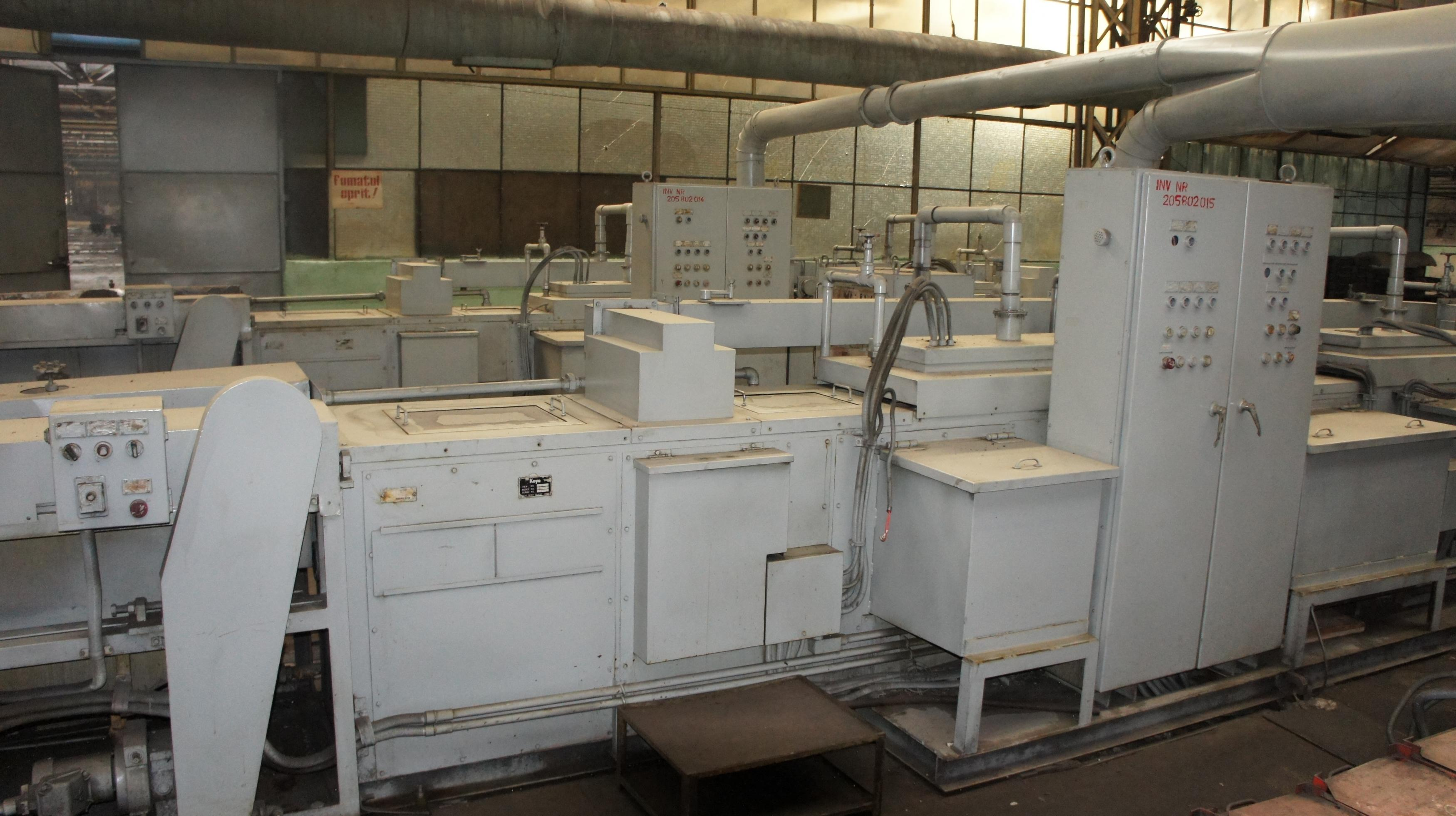 Automatic Koyo Line for Ultrasonic, Washing, and Preserving the Bearing Components    USW-B-1