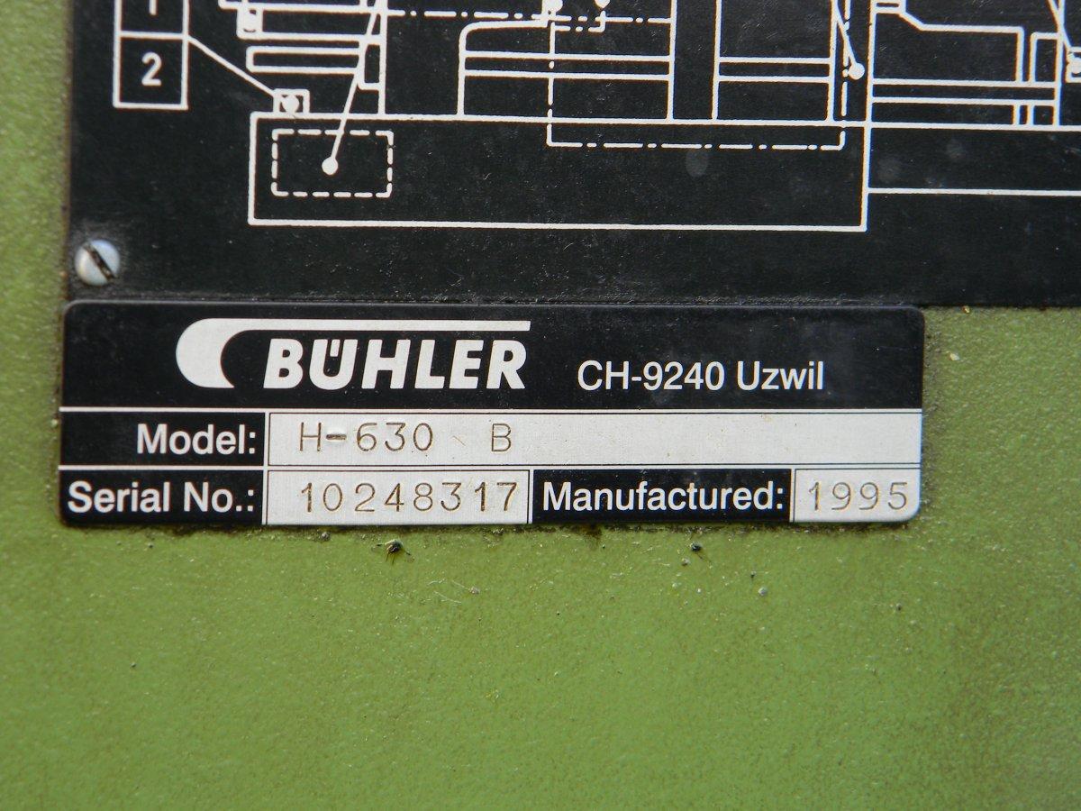 BUHLER H-630 B Die Casting Machines